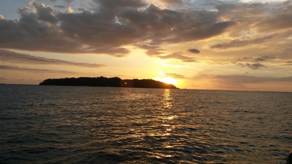 Atardecer en Santa Catalina , Veraguas, Panama