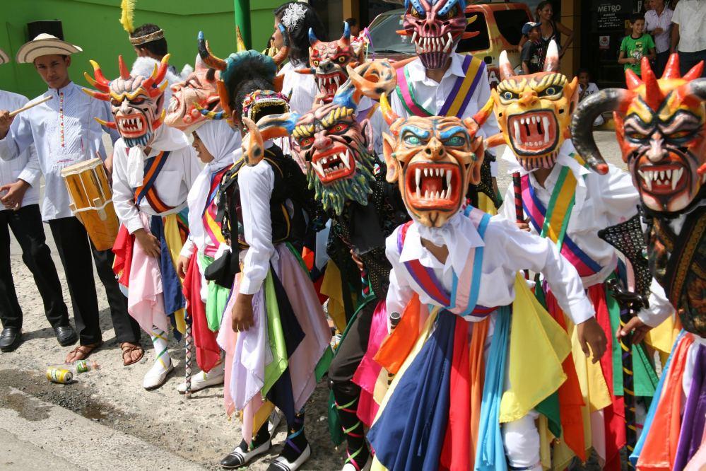 Desfile del Corpus Chirti en Panama