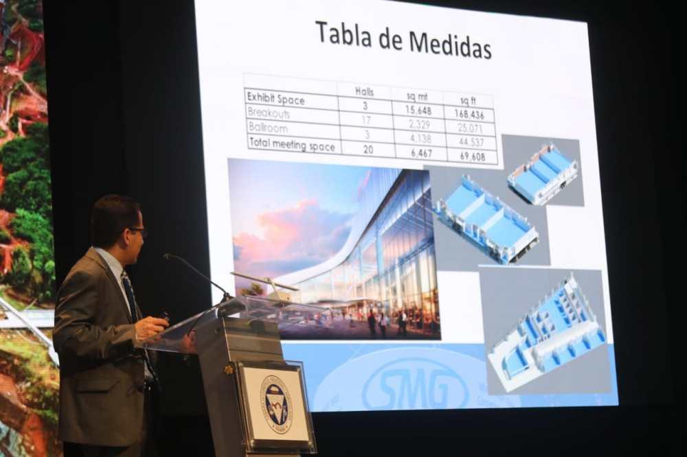 Presentacion del nuevo centro de convenciones de Amador
