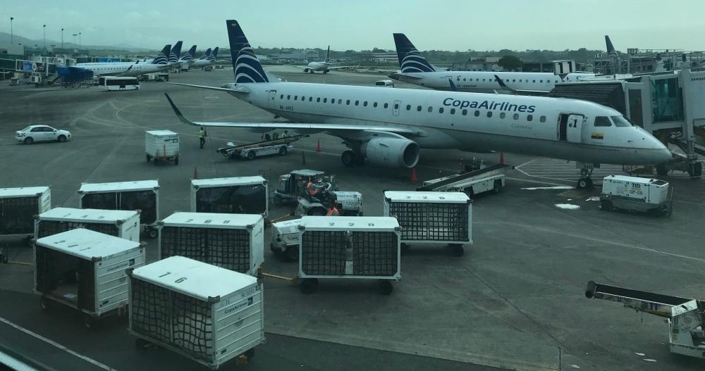 Copa Airlines, en el Aeropuerto de Tocumen