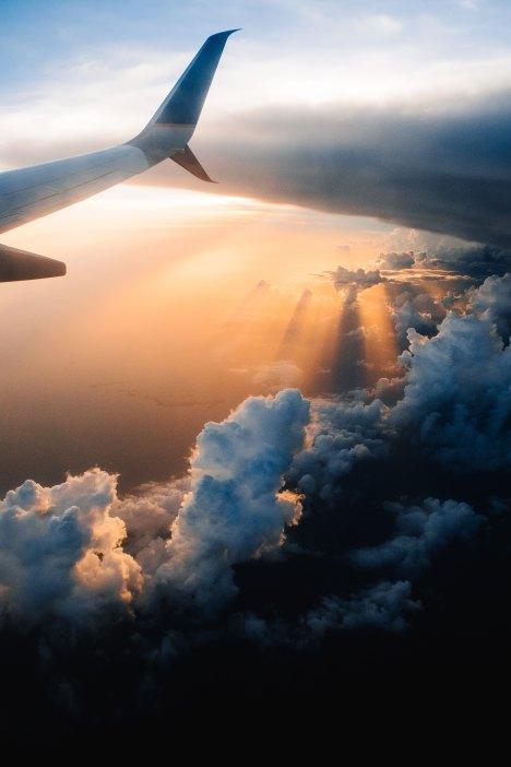 vista desde la ventana del Avion
