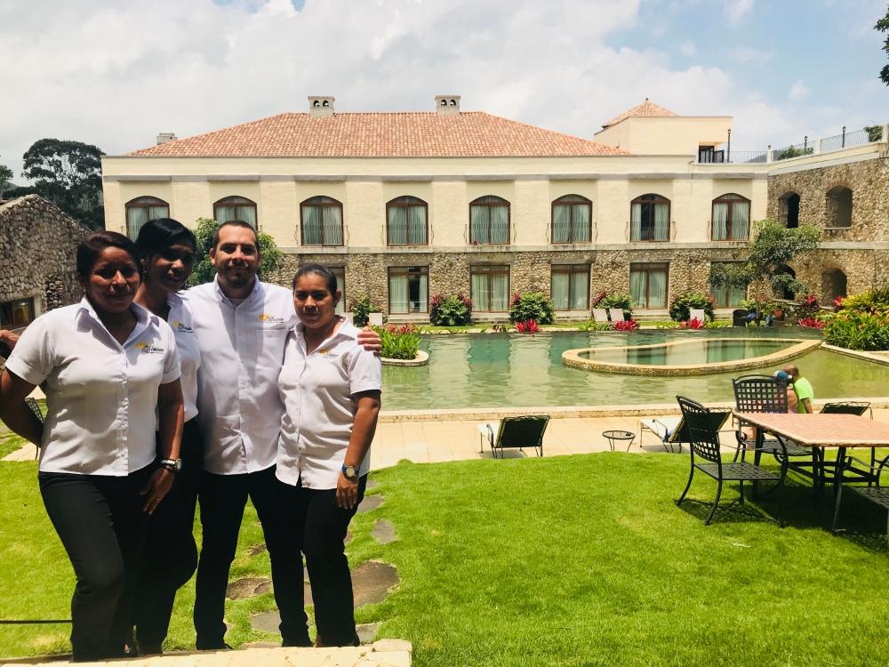 Team del Hotel Los Mandarinos