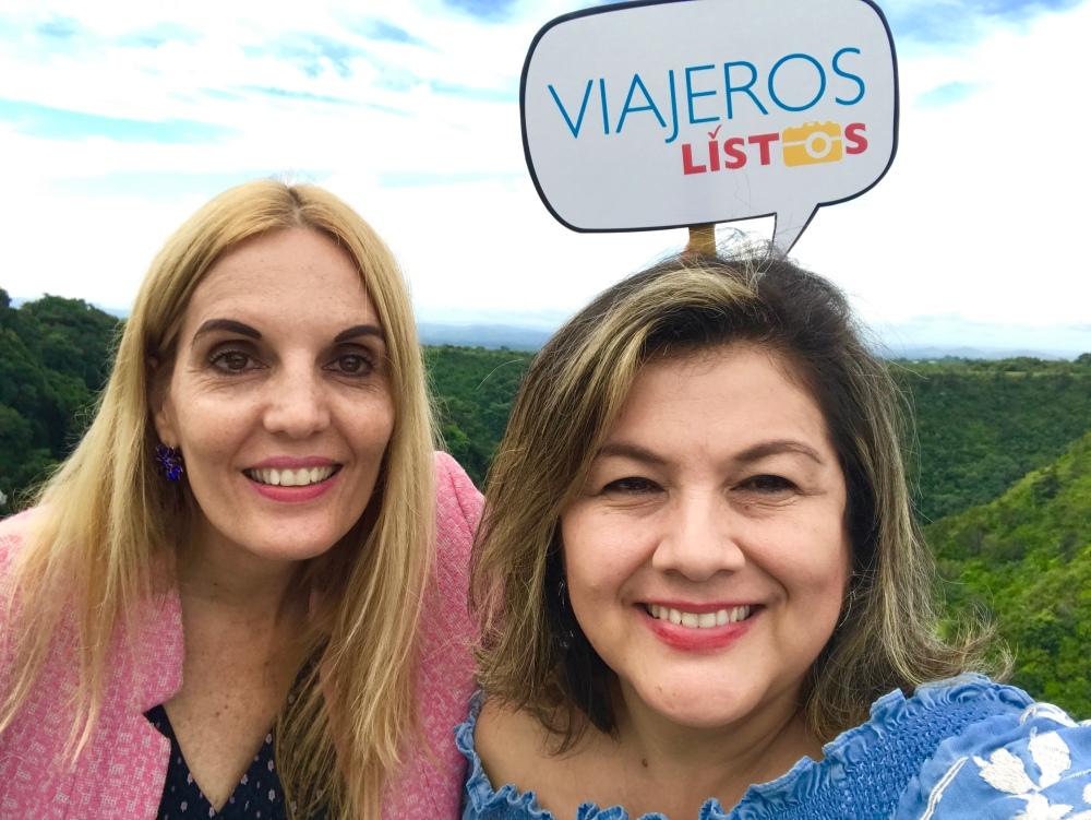 Violeta y Patricia descubriendo Bqouete