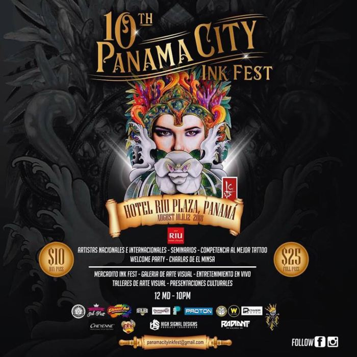 Panama city Ink Fest 2018