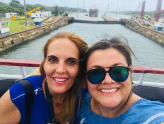 Violeta y Patricia